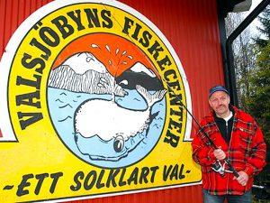 Fahlströms Bygg & Fiskecenter i Valsjöbyn