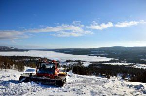 Åkersjöns Snöskoterklubb. Foto © Isabell Lundli.