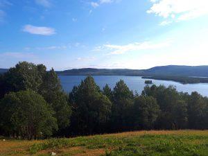 Bränna Gårdsmejeri utsikt