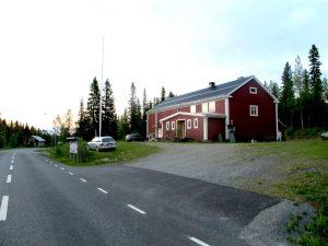 Föreningshuset i Skärvången.