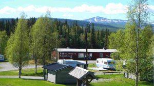 Sommar hos Rörvattnets FiskeCamp.