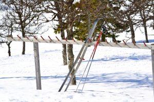 En skön vila efter en tur på längdskidor upp till Ansätten från Bakvattnet. Foto © flyttatillfjallen.se