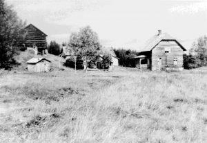 Fjällgården Nöjden i Hotagsbygden. Foto © Jamtli Bildarkiv.